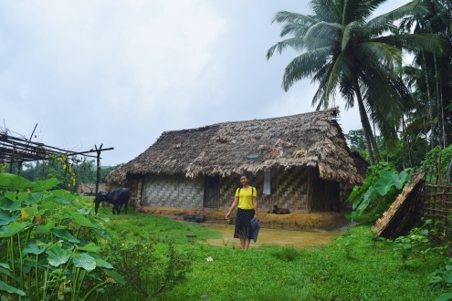 Stumbled upon this hut on our way back from the caves